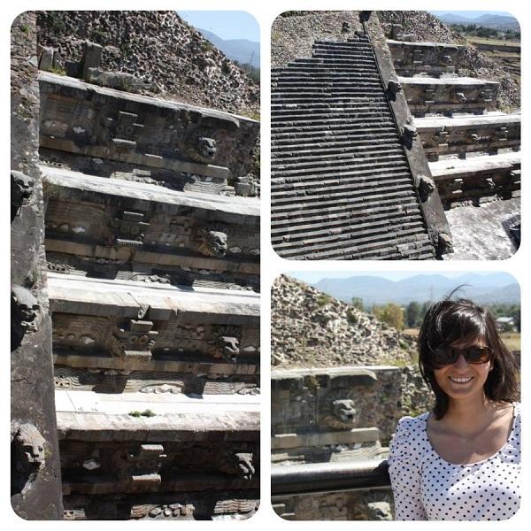 Templo de Quetzalcoatl en Teotihuacán