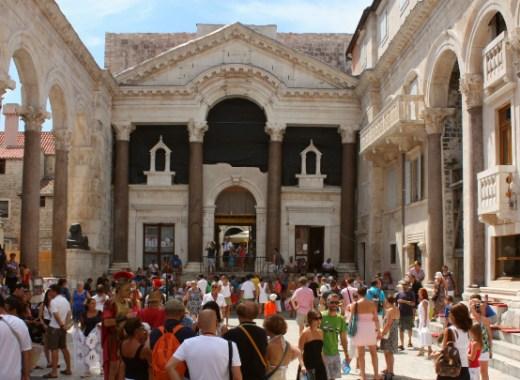 peristilo del palacio diocleciano de split