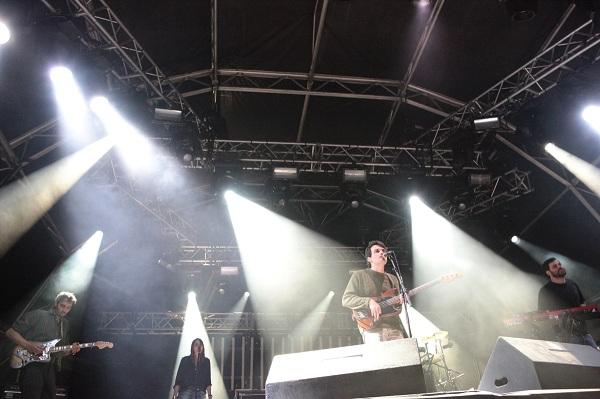 Concierto de Delorean durante el Mulafest 2013 de Madrid