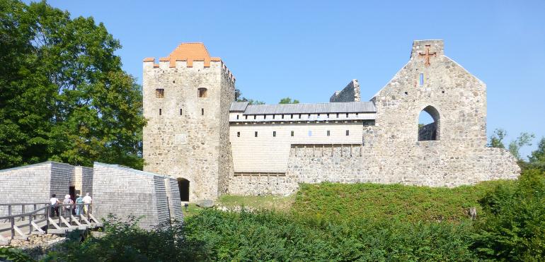 entrada al Castillo Medieval de Sigulda
