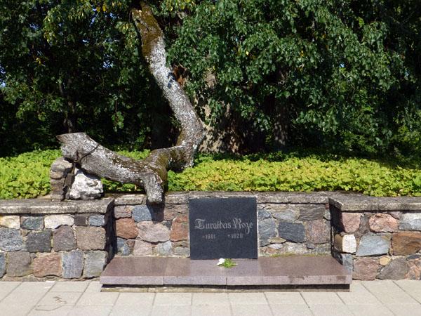 Rosa de Turaida en el parque nacional de gauja