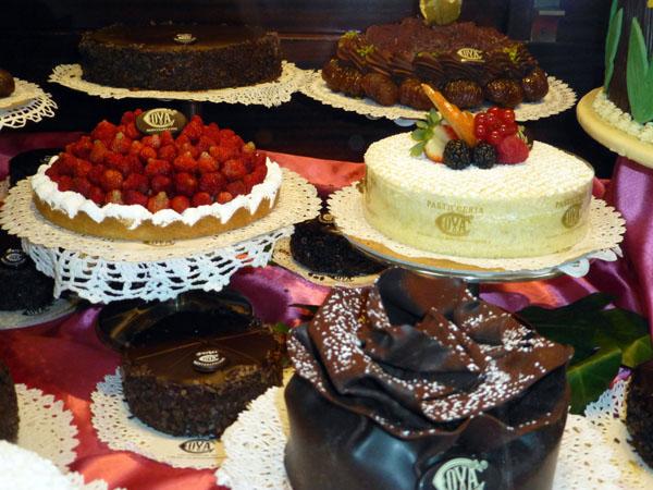 Pastelería Cova en Milán