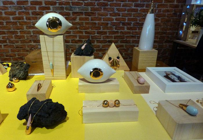 bisuteria de julieta alvarez en el Mercado Central de Diseño del Matadero
