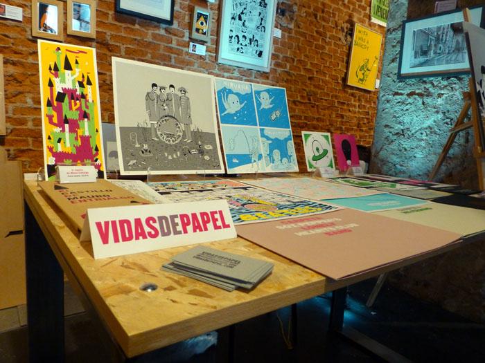 Vidas de Papel en el Mercado Central de Diseño del Matadero