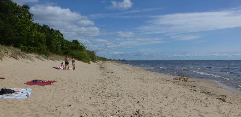 playa del lago peipsi