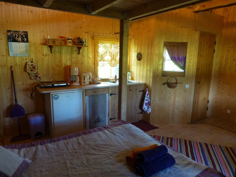 cocina Tonise Holiday House en la isla saaremaa