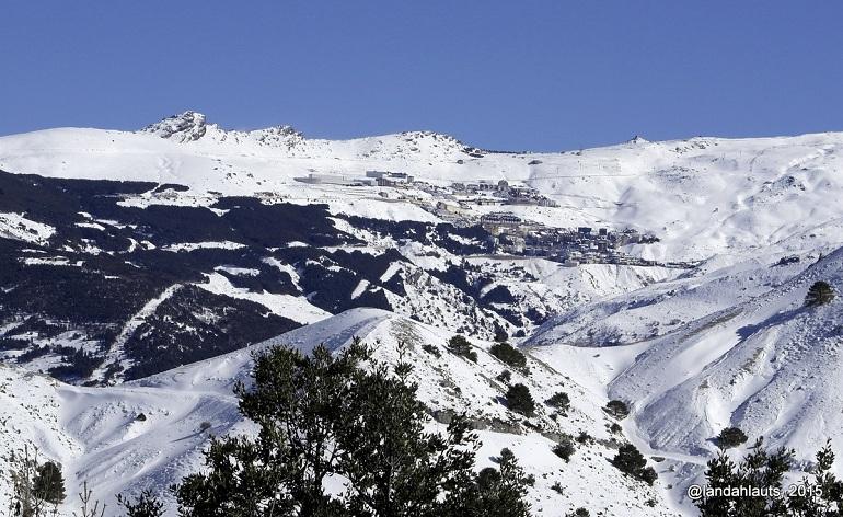 estacion de esqui de sierra nevada