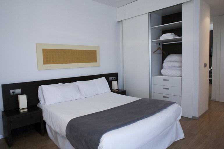 cama del apartamento de valencia flats