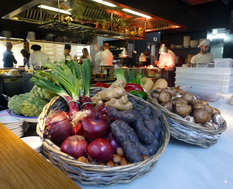 Barra-cocina de Bosco de Lobos