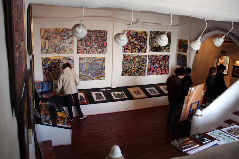 interior-museo-casapueblo-punta-del-este-uruguay