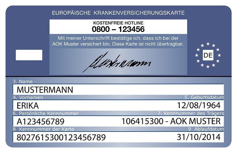 Cobertura de la Tarjeta Sanitaria Europea (TSE)