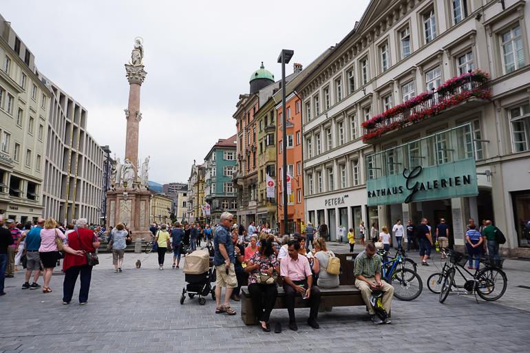 Centro histórico de Innsbruck