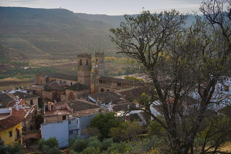 Alcaraz desde el cerro de San Cristóbal