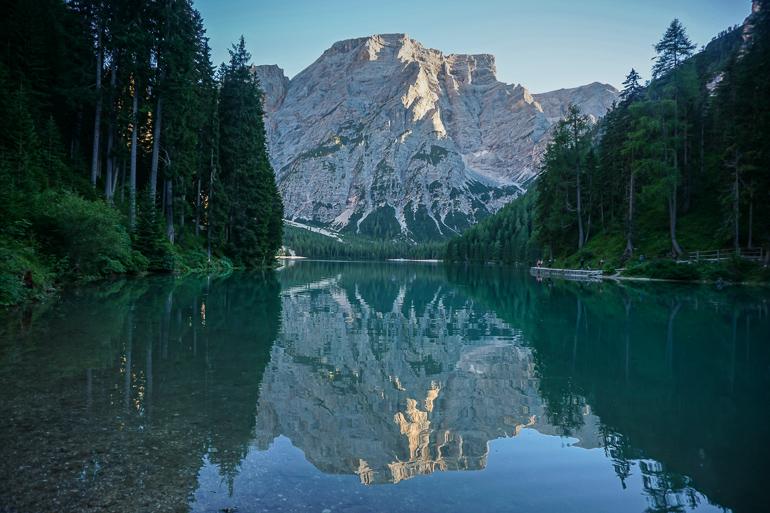 Reflejos del Lago di Braies