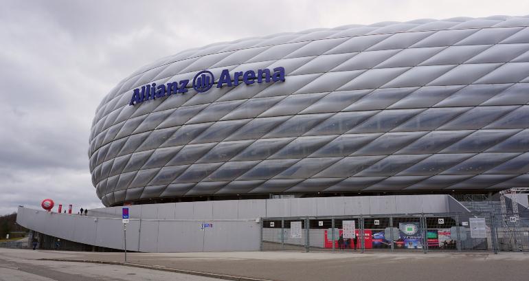 exterior del allianz arena