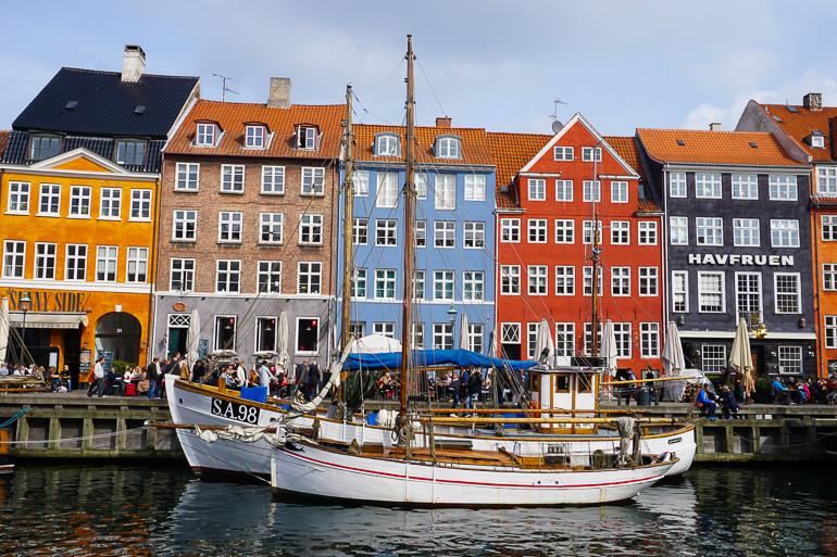 fachadas de colores del puerto Nyhavn