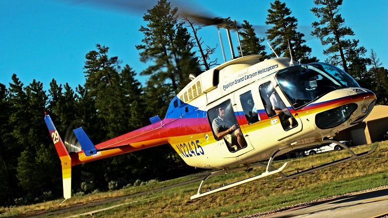 Helicóptero de Papillon