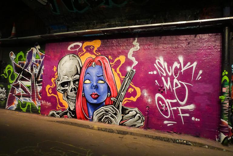 Mural en Leake St.