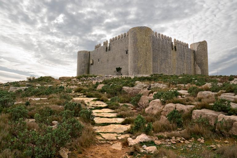 vista del Castillo de Montgrí