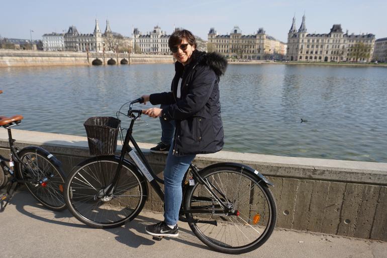 en bici por copenhague