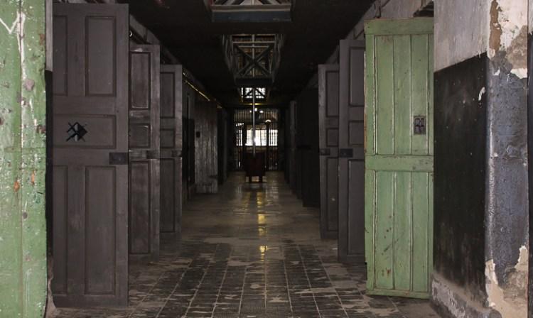 pasillo del penal de ushuaia