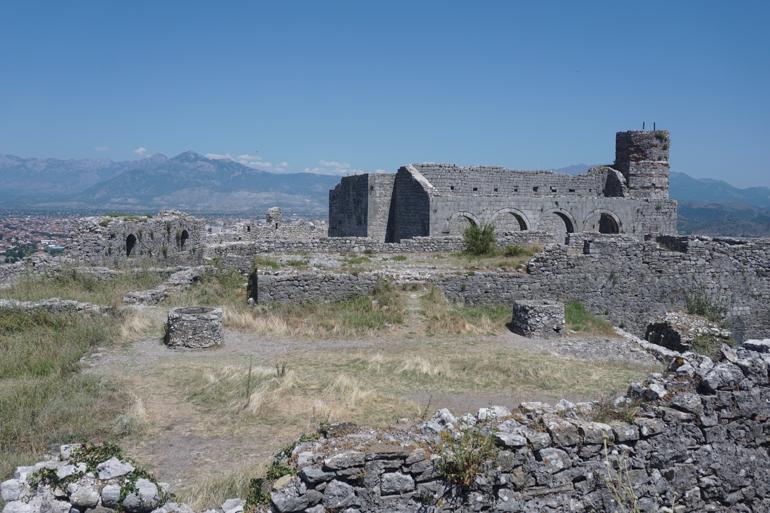 Ruinas de la ciudadela de Rozafa