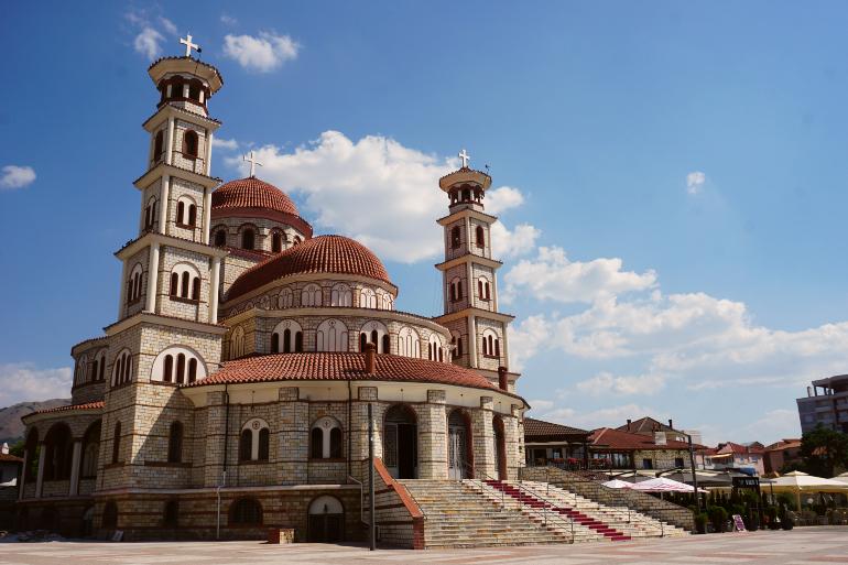 catedral ortodoxa de Korçe, qué ver en albania