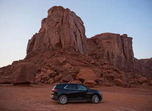 coche en monument valley