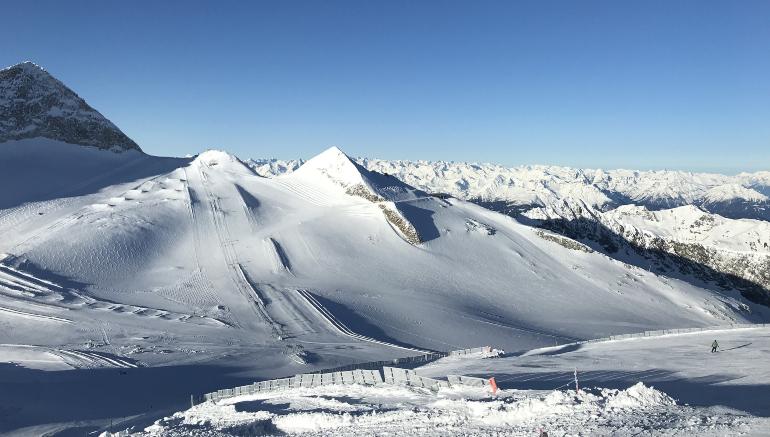 Glaciar Hintertux en los Alpes austriacos