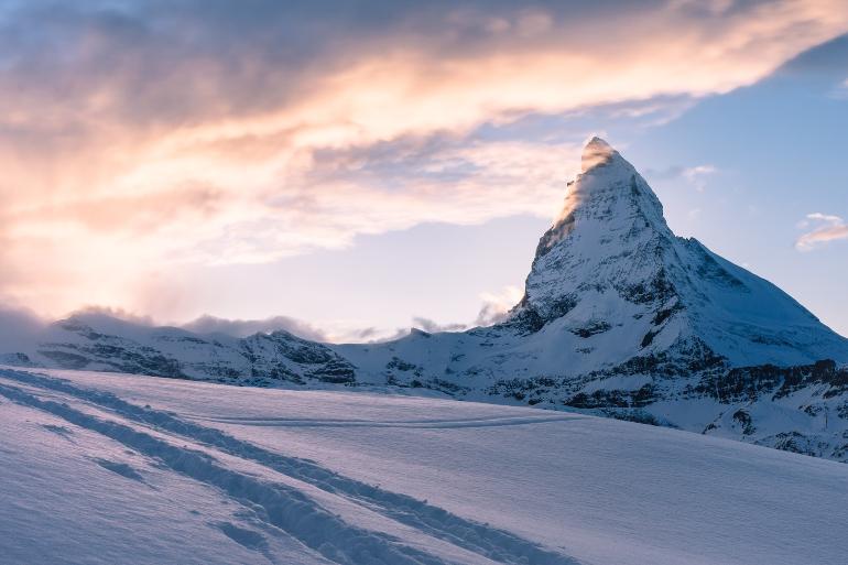 Matterhorn nevado
