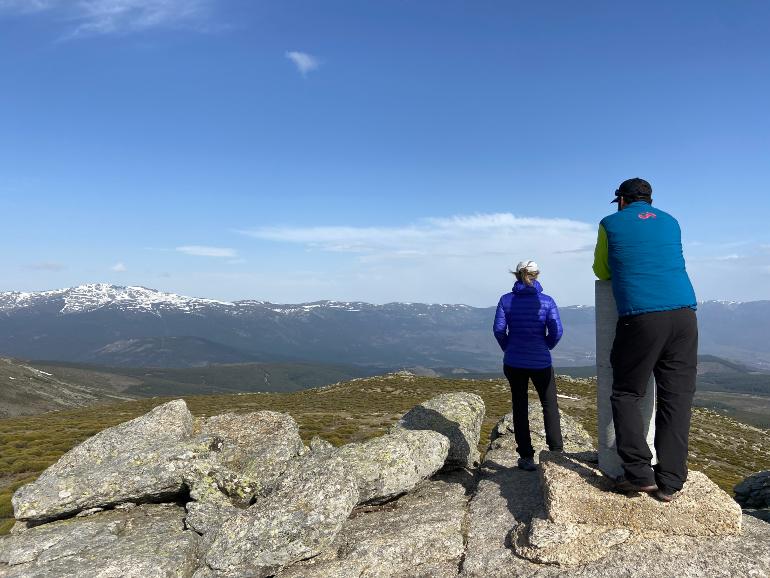 vistas desde el pico de la najarra