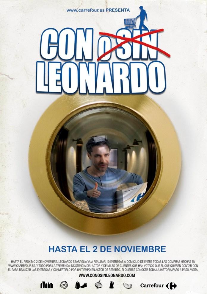 Cartel_Con Leonardo