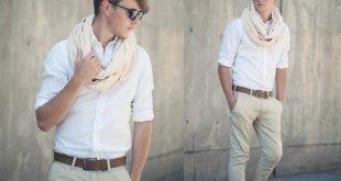 Errores al usar una camisa blanca