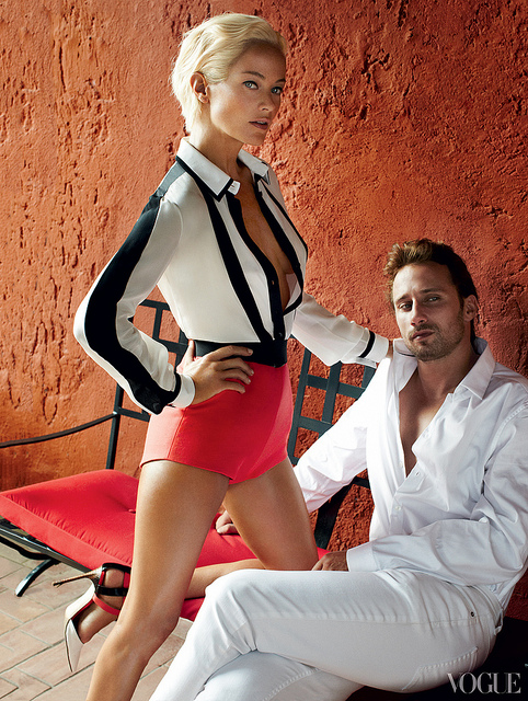 American Vogue | Carolyn Murphy & Matthias Schoenaerts