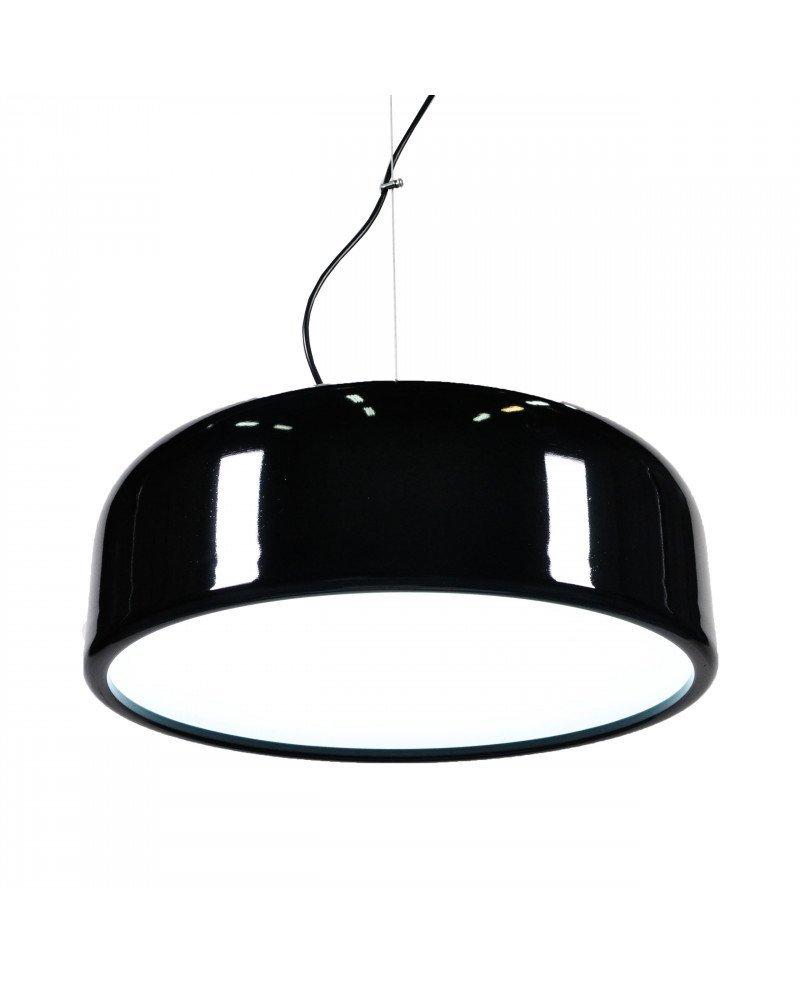 lampadario di design italiano moderno nero