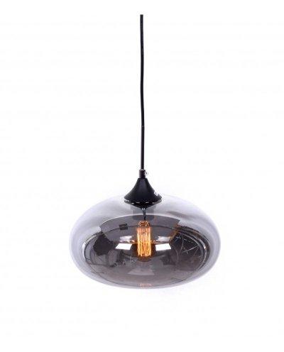 lampadario in stile scandinavo fumé industriale