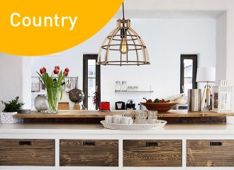 Country decor style