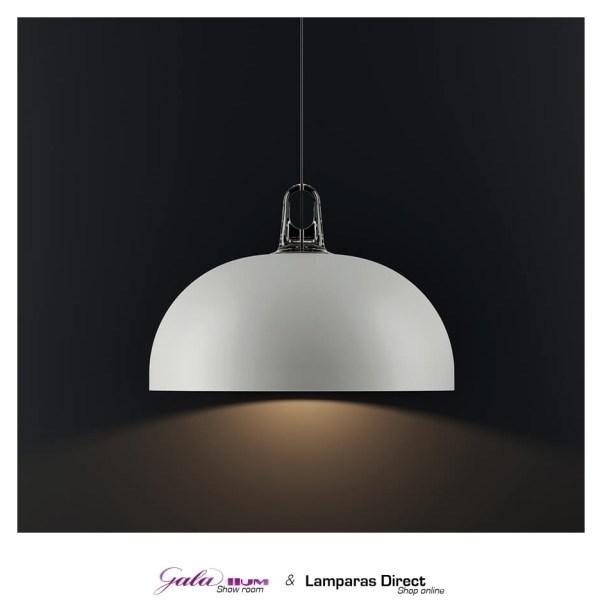 lámpara metálica de suspensión