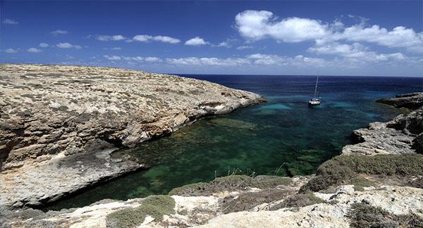 Cala Uccello Lampedusa