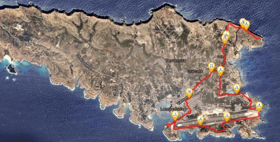 Mountain Bike Lampedusa