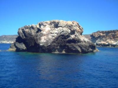 Scoglio Panettone Lampedusa