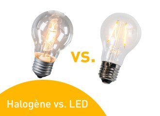 Halogène vs. LED