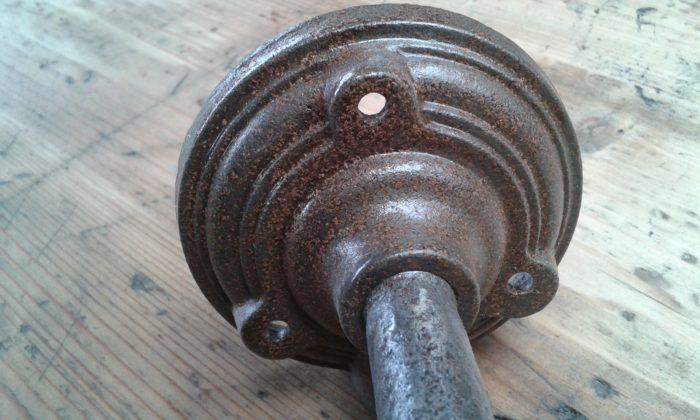 lampe col de cygne applique cour de ferme
