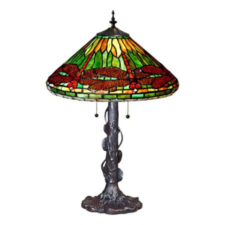 Paul Sahlin Tiffany 423 Tiffany Dragonfly Table Lamp