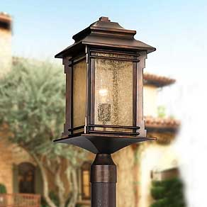 Outdoor Lighting Fixtures   Porch  Patio   Exterior Light Fixtures     Post Lights
