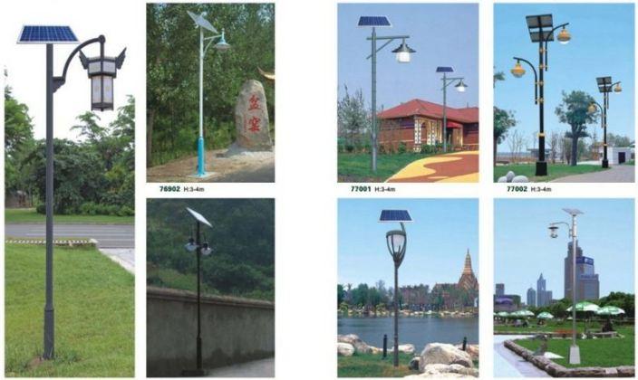 Aplikasi Lampu Solar
