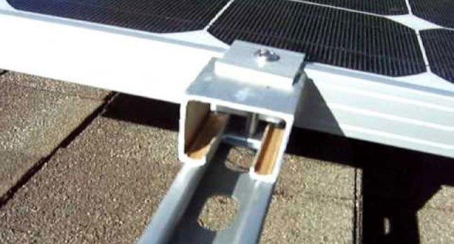 Bracket solar panel