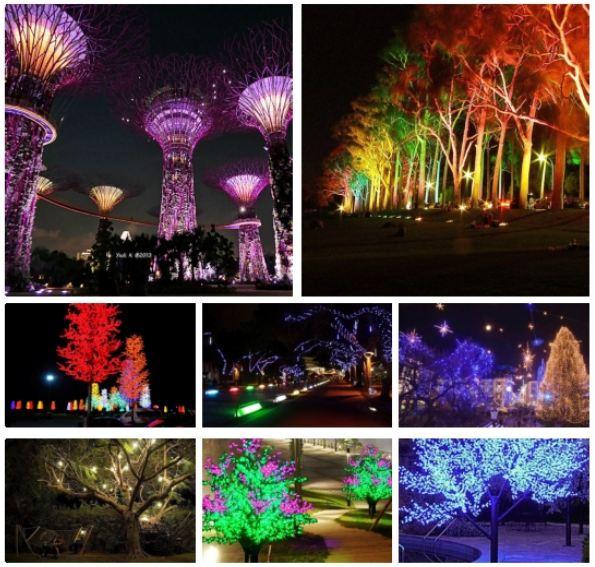 Lampu Hias Pohon