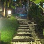 Lampu Jalan Taman yang Terang dan Hemat Energi