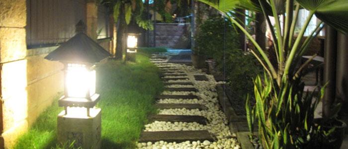 lampu jalan taman